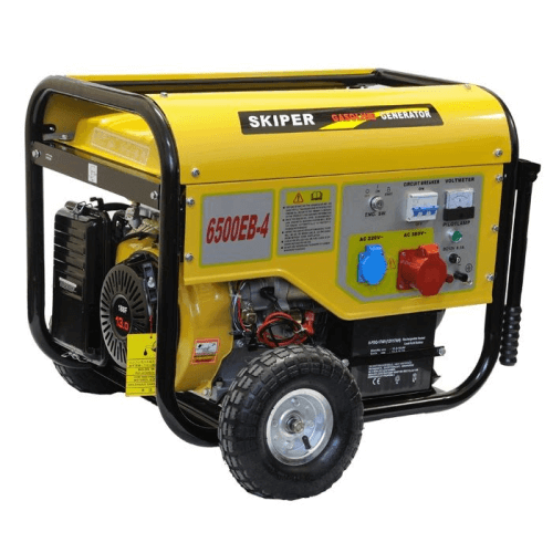 Бензогенератор Skiper LT 6500 EB – 4