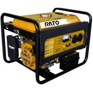 Бензогенератор Rato R 3000 D