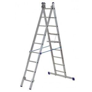 Лестница телескопическая 2-х секционная