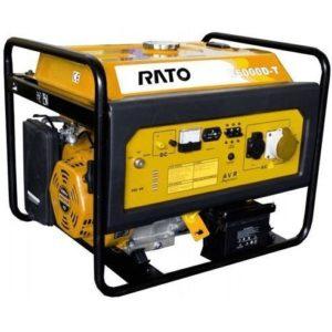 Бензогенератор Rato R 6000 D-T