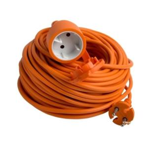 Удлинитель Electraline 01613 (оранжевый) 20м